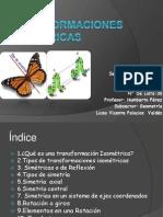Transformaciones Isométricas Sebastián Pérez