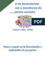 Manual de formulación, evaluación y monitoreo de (1)