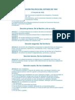 CONSTITUCIÓN POLITICA DEL ESTADO DE 1843