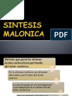 SINTESIS MALONICA