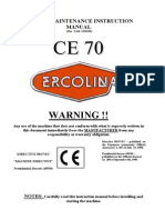 Ce-70 Section Rolls