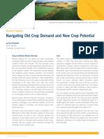 Navigating Old Crop Demand and New Crop Potential