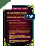 Ikrar Integriti Malaysia