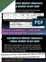Kelebihan Rekod Semakan Oleh GMP
