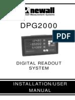 DPG2000 Manual