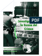 NIJ Guia de Investigacion de La Escena Del Delito