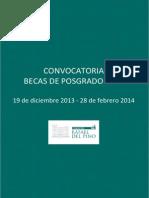 Bases Convocatoria 2014