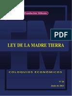 Coloquio económico Nº 26 Ley de la Madre Tierra.pdf