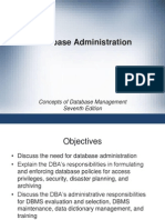 Role and Responsibilities of DBA