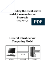 Understanding the Client Server Model, Communication Protocols