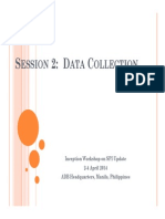 3-Social Protection Index Technical Workshop - Data Collection_Data Required for Estimating SPI (Flordeliza Huelgas)