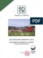 Declaracion Medioambiental Navia 2011