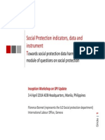 11-Social Protection Index Technical Workshop - SP Indicators, Data and Instrument_Lesson From ILO (Florence Bonnet)