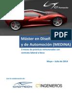 Master en Diseno Industrial y Automocion Con 3 Meses de Practicas Remuneradas en Bilbao