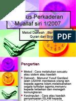Kursus an Muallaf Siri 1