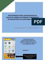 Procedimiento Para Configuracion de Cuenta de Correo Electronico Corporativo