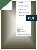 Anteproyecto Plan de Seguridad ITC