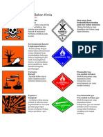 Simbol Bahaya Bahan Kimia