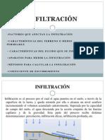 INFILTRACIÓN present. Kc