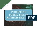 Philippine Public Fiscal Administration