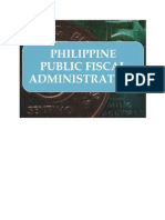 Philippine Public Fiscal Administration