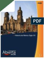 Historia de Mxico Siglo XX