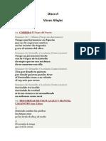 Letras de la Antología del cante gitano de nuestra tierra de Manuel Torre a Antonio Mairena