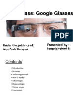 Project Glass Ppt