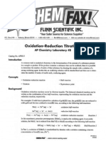Oxidation Reduction Titrations