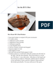 Beef Recipes for the HCG Diet