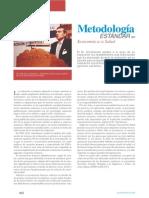 Metodologia Estandar en Economia de La Salud