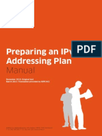 IPv6 Addressing Plan4