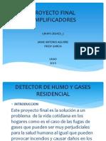 Detector de Humo y Gas