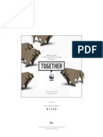 WWF Together BisonOrigami