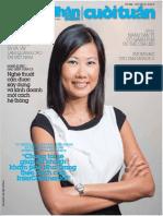 Tuần ẩm thực hải sản của Press Club Hanoi được giới thiệu trên tạp chí Doanh Nhân Sài Gòn Cuối Tuần, tháng 4 năm 2014