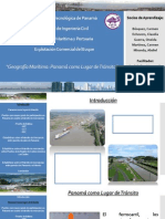 Geografía Marítima - Panamá como lugar de tránsito.pptx