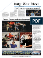 The Daily Tar Heel for April 4, 2014