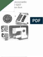 Pfaff 1216-1217 Manual