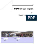 Railway enquiry system project