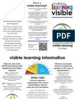 visible learning pamphlet