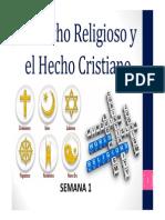 Clase 1 - Hecho Religioso [Modo de Compatibilidad]