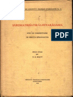 Sardha Trishatika Lokottara Agama - N.R. Bhatt