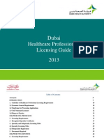 Dubai Healthcare Professional Licensing Guide - Final