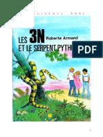 Roberte Armand 13 Les 3N Et Le Serpent Python 1979 01