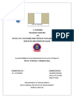 Project on Punjab National bank
