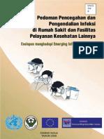 Pedoman Pencegahan dan Pengendalian Infeksi di Rumah Sakit dan Fasilitas Pelayanan  Kesehatan lainnya