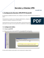 VPN Mikrotik Ejemplo