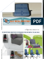 Ukay Metal Industries Furniture Div 2013
