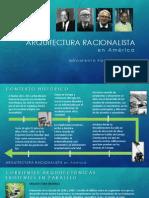 Arq. Racionalista en América EXPO
