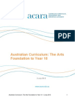 australian curriculum the arts 2 july 2013